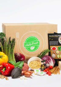 Home-Delivered Meals with Farm-Fresh Ingredients: HelloFresh