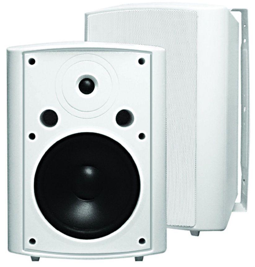 Outdoor Indoor 200w Speakers Patio Deck Pool Lawn Spa Sharp Premium Sound White Audioosd Pool Decks Outdoor Indoor Outdoor