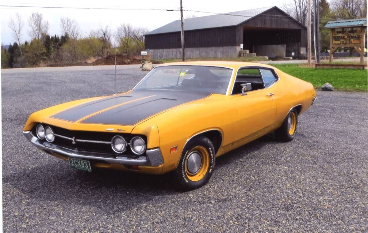 1971 Ford Torino Cobra 351 4v Cleveland Super T10 4speed