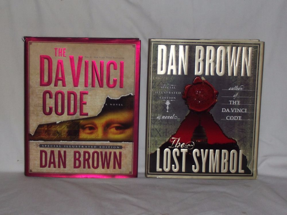 Ending Soon Bid Now 2 Dan Brown Special Illustrated Books The Da