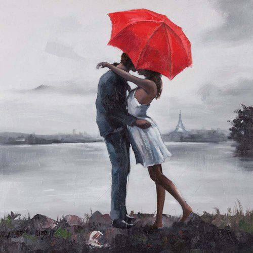 Ren-Wil OL808 Kissing in The Rain Hand-Painted Oil Painting by Giovanni Russo by Ren-Wil, http://www.amazon.com/dp/B00BIJM6NG/ref=cm_sw_r_pi_dp_Nbdcsb1DG8ABJ