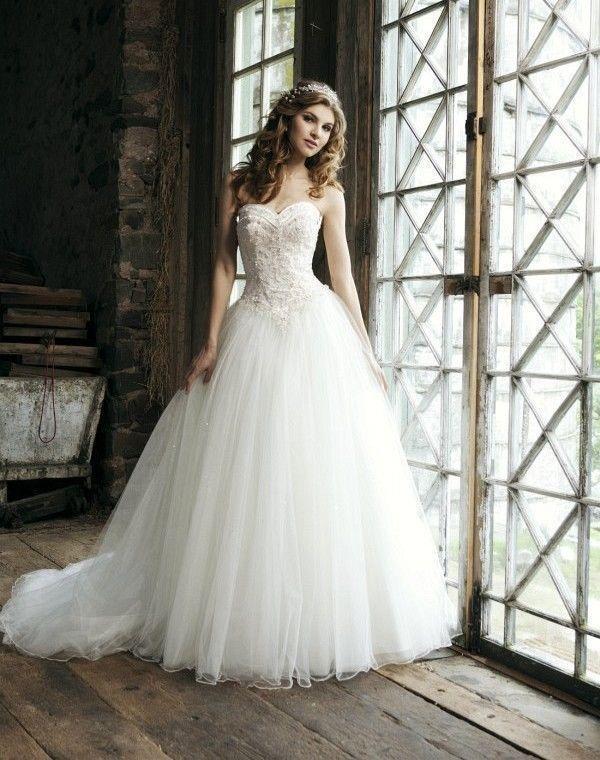 Plus Size Empire Wedding Dress Cut