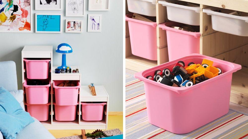 7 astuces pour ranger les jouets des enfants   Astuce rangement, Rangement et Décoration chambre ...