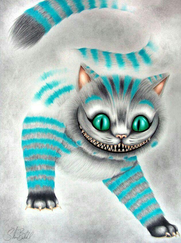 Gato De Cheshire Com Imagens Filme Alice No Pais Das