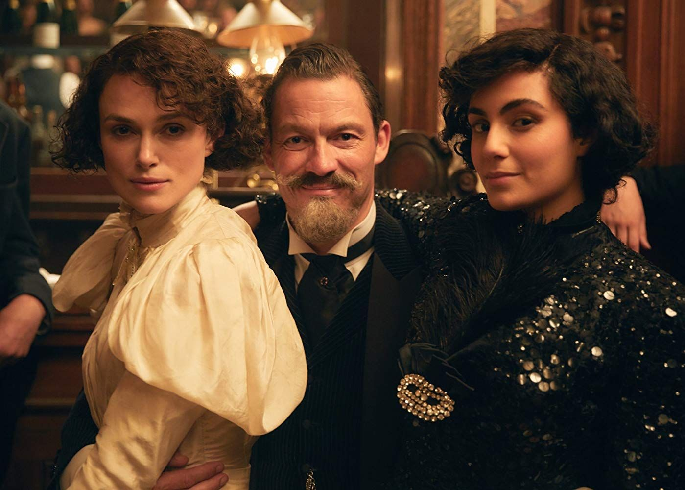 Keira Knightley Dominic West And Aiysha Hart In Colette 2018 Film Inspiration Keira Knightley Movies