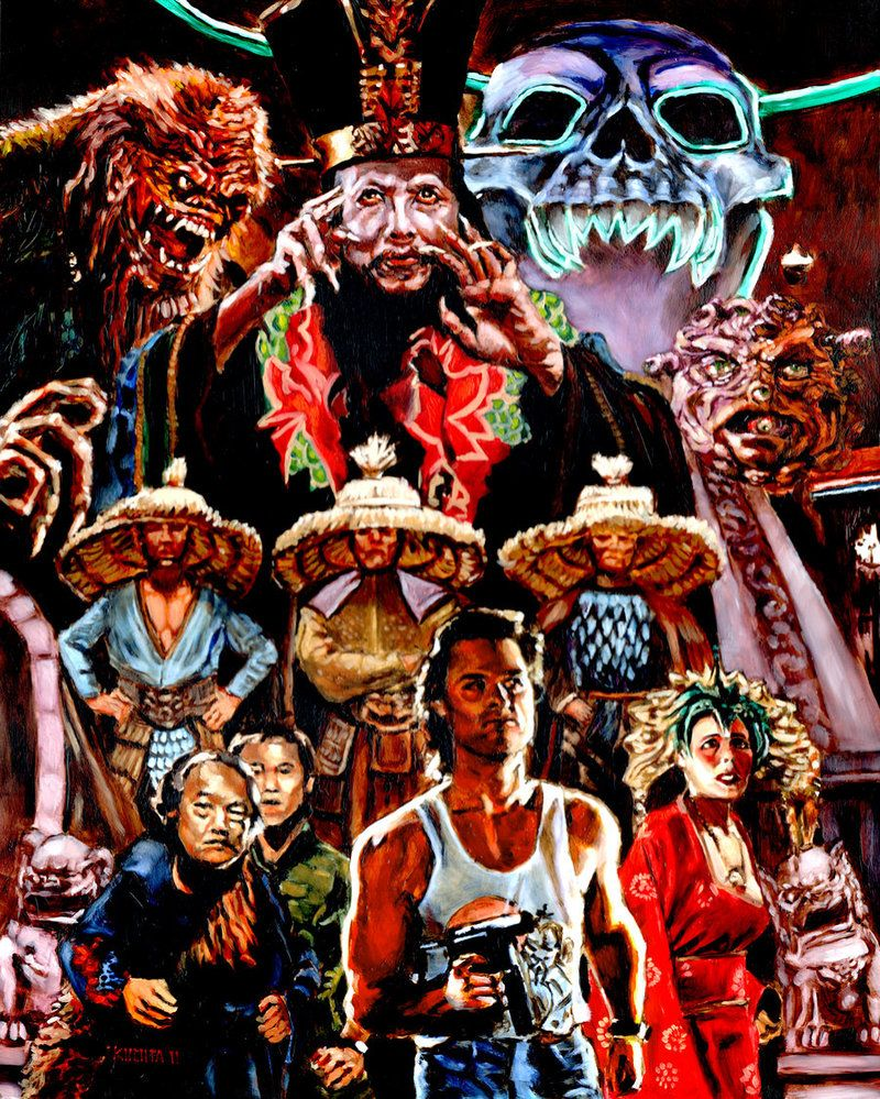 Big Trouble In Little China By Bloodedemon On Deviantart Horror Movie Art Movie Art Horror Art