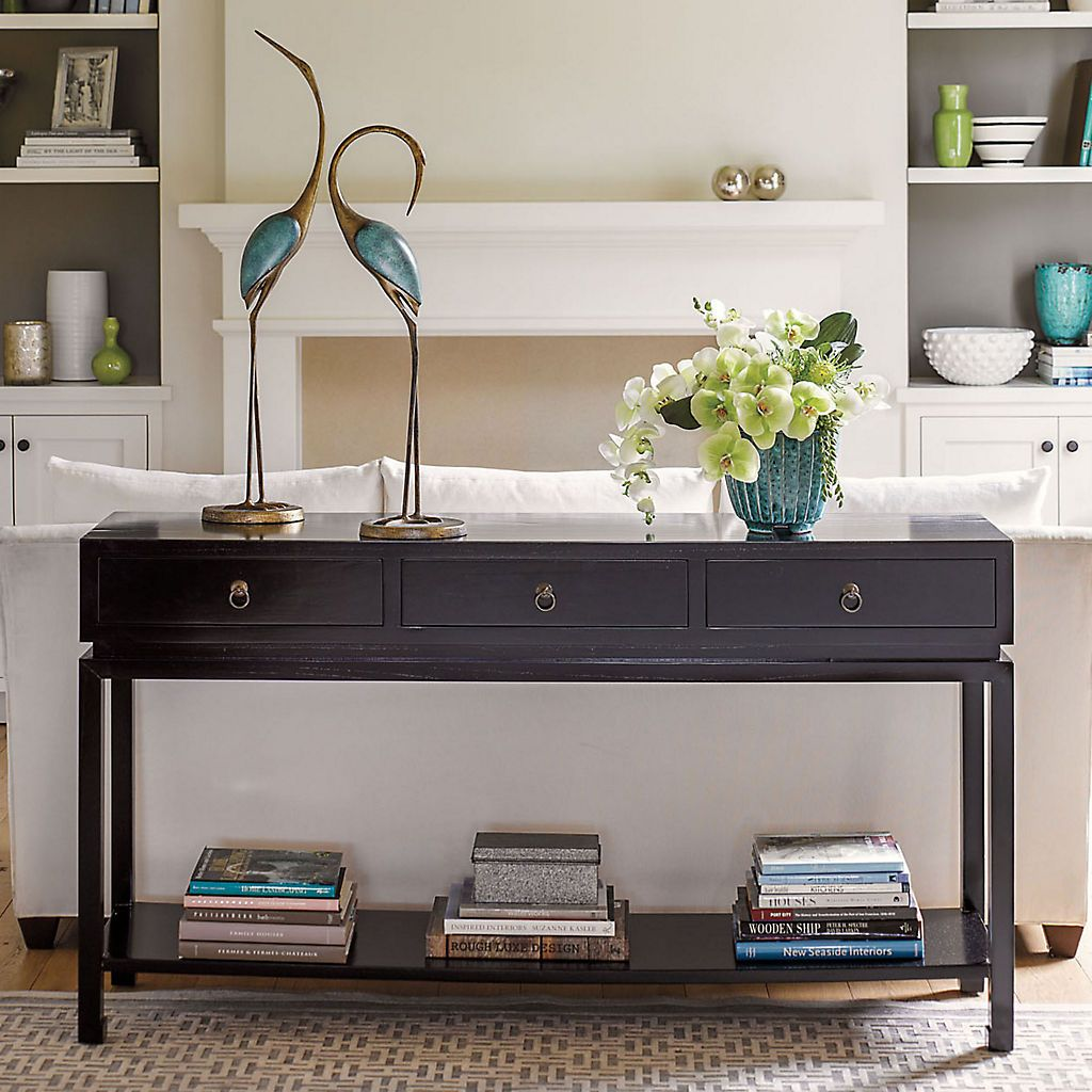 Buy livingston console table black online at gumps em buy livingston console table black online at gumps geotapseo Gallery