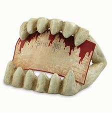 Great food label sign holder for your Halloween party food. Find @ Dollar Den stores.
