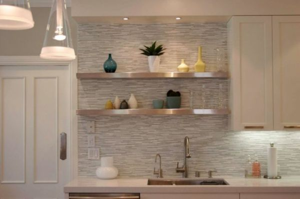 Tolle Küchen Fliesenspiegel Designs -    wohnideennde kuche - küchen fliesenspiegel glas
