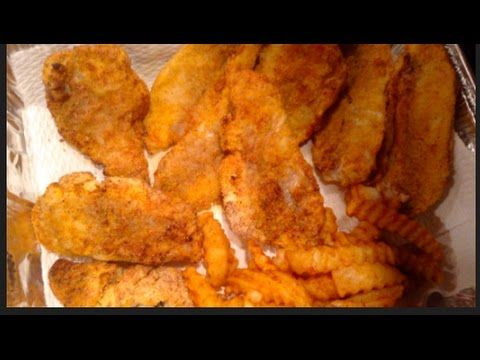 #328 POWER AIR FRYER XL - Air Fried Catfish Fillets - YouTube