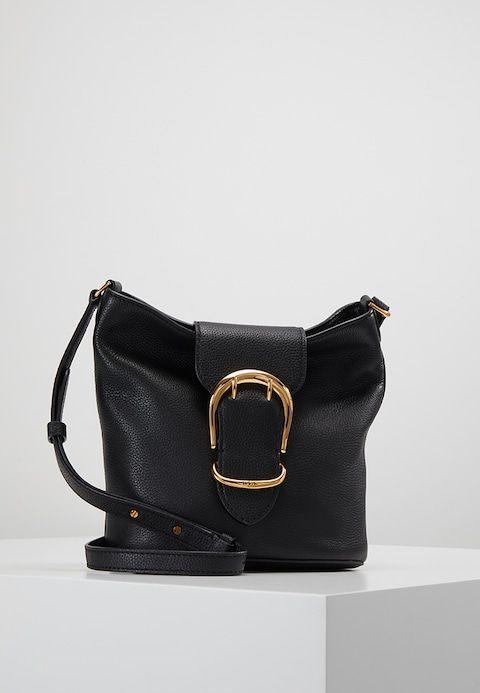 070a21018be7 Lauren Ralph Lauren SOFT BUCKET - Across body bag - black - Zalando.co.