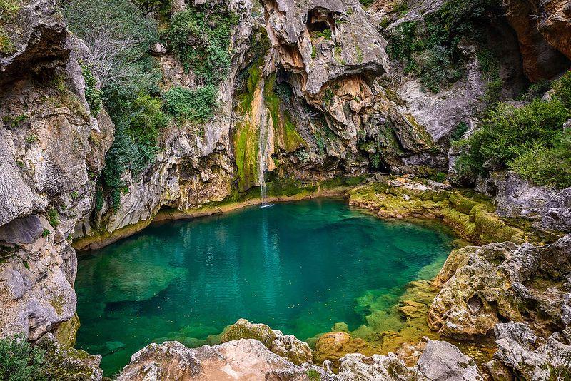 Salto de los Órganos, Sierra de Cazorla  | paisajes
