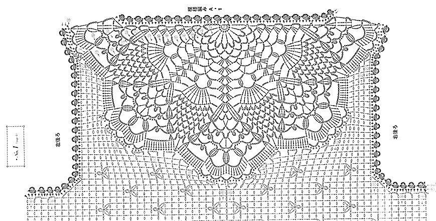 Camiseta con Cuello de Crochet Patron - Patrones Crochet | Crochet ...