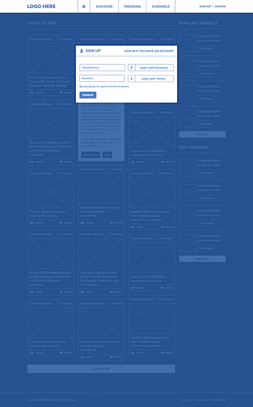 Trendlinks - Behance 통해 Waseem 아르 샤드로 소셜 네트워크,