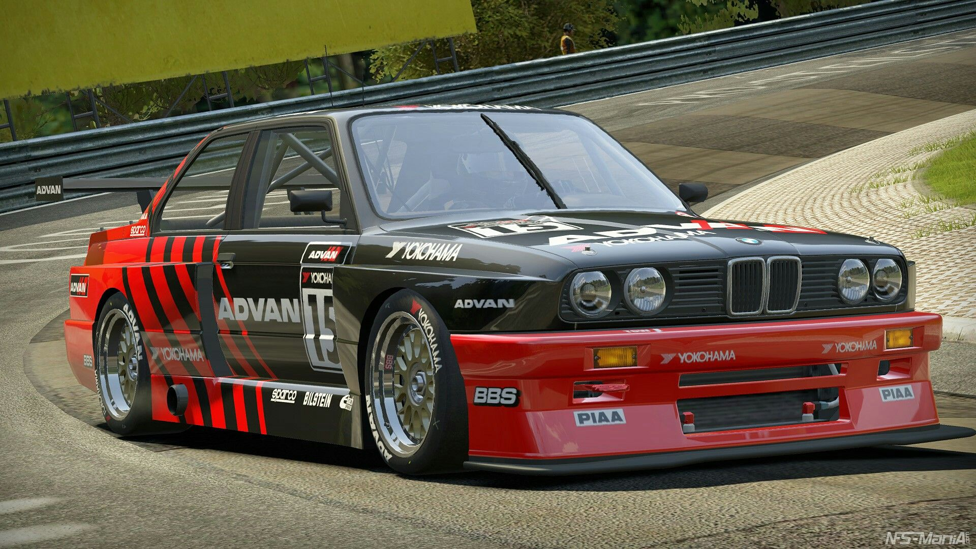 Volk Racing TE37 on E30 BMW M3 | Race Car Liveries ...