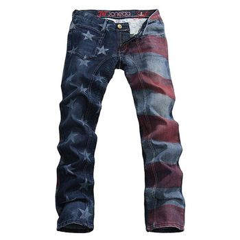 Can i pull these off?! Cause i dig 'em:-) (American flag jeans ...