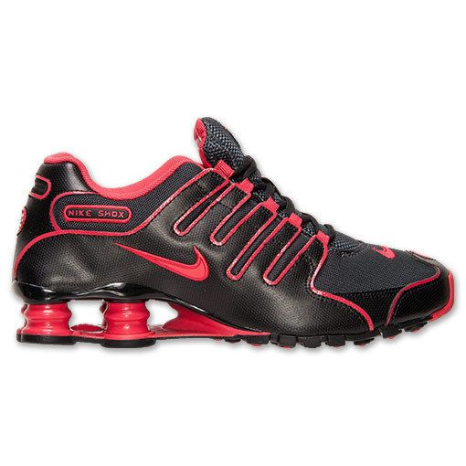 c60a637fed5 NEW NIKE SHOX NZ EU Running WOMENS 6.5 Anthracite Fusion Red LIMITED   NikeShox  Running