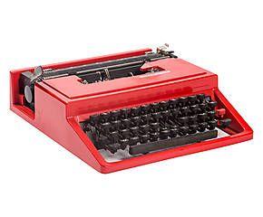 Macchina da scrivere Olivetti modello Valentine - 30x9x35 cm , 279e