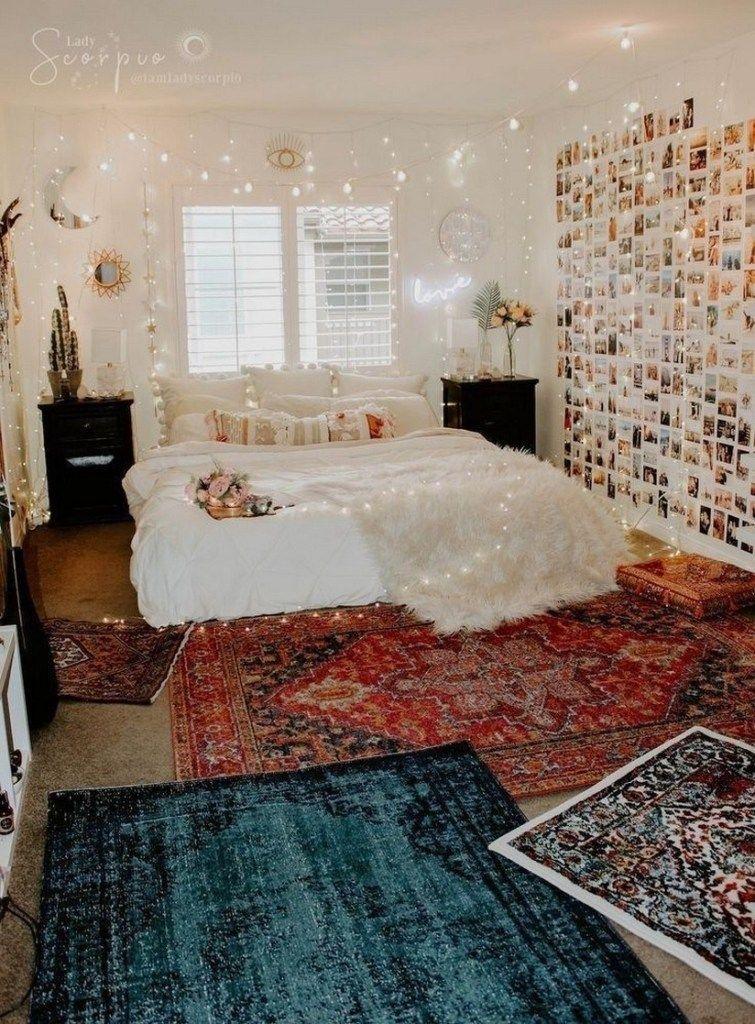 Pin On Bedroom Inspo In 2020 Bedroom Design Small Room Bedroom Dorm Room Inspiration