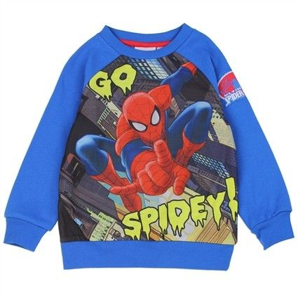 MARVEL Spider-Man Long Sleeve Toddler Top Officially Licensed Merchandise NEW