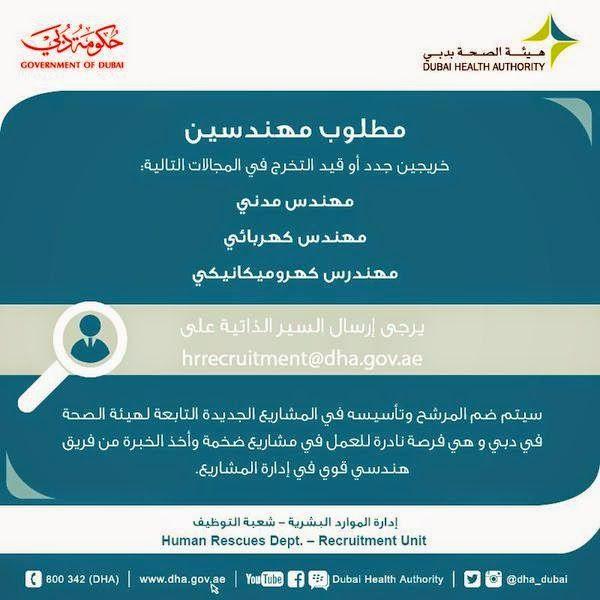 وظائف خاليه فى الامارات وظائف هيئة الصحة بدبي Dubai Author Blog Posts