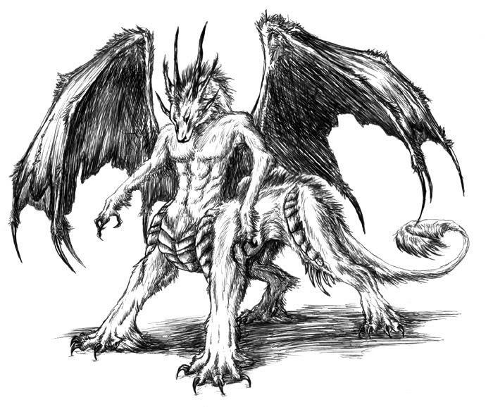 Wolf Dragon Google Zoeken Creature Picture Cartoon