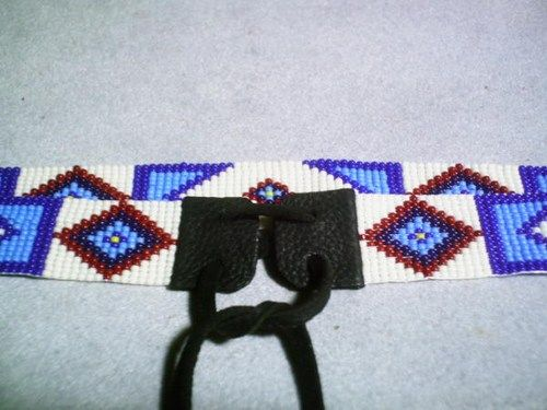 Billy Jack Hat Band Native American Beaded Hatband Replica Beaded Hat Bands Loom Beading Native American Beading