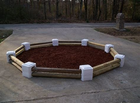 60 Best Landscape Timber Ideas For Your Dream Lawn Enjoy Your Time Landscape Timbers Landscape Timber Crafts Lowes Landscaping