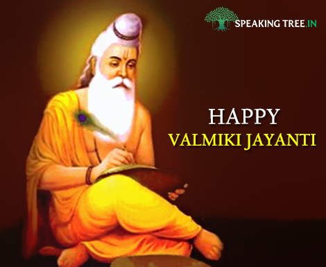 Maharishi Valmiki gave us the epic Ramayana. On his jayanti, let us take a moment to remember him.