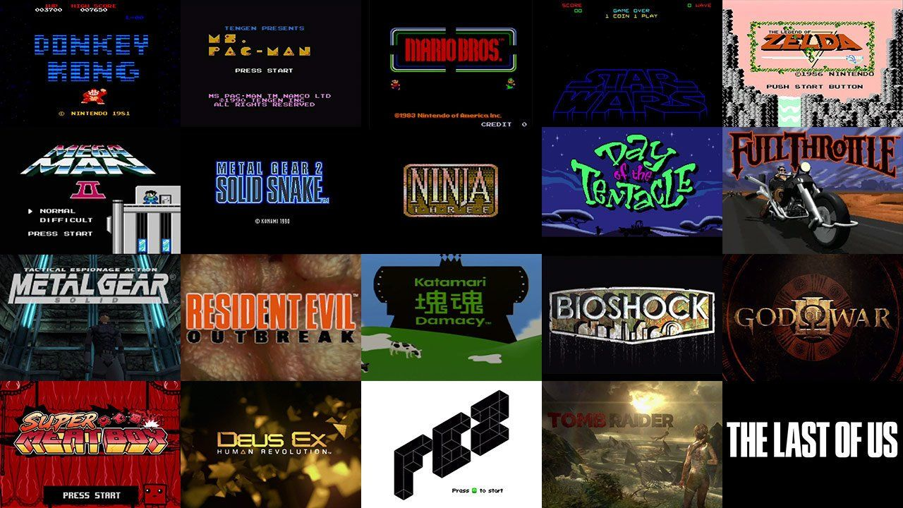 "A Brief History of Video Game Title Design. A brief history of video game title design, created to accommodate our ""Talking Titles: How The ..."
