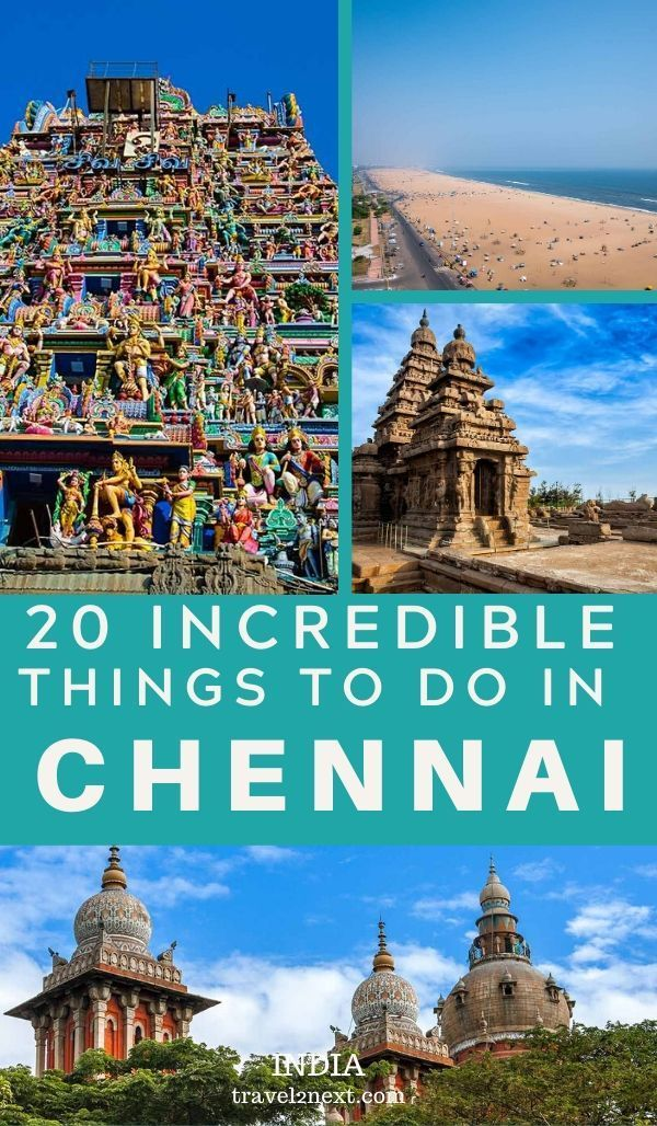 20 Things to Do In Chennai. With a rich history, beautiful colonial buildings, mysterious temples and lovely beaches, and there are plenty of amazing things to do in Chennai. Planning a trip to Eastern India? Here are a few recommendations for places to visit in Chennai. It's a bustling city with a lot of history! #asia #travel #india #chennai