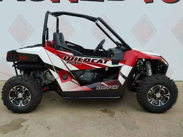 New 2016 Arctic Cat WILDCAT TRAIL ATVs For Sale in Texas