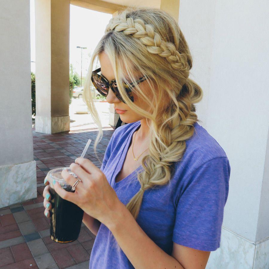 Barefoot Blonde  Braided hairstyles  Pinterest  Barefoot blonde