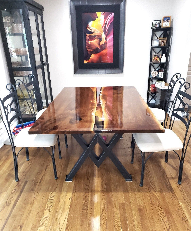 Diamond Dining Table Legs Industrial, Heavy Duty Dining Room Furniture