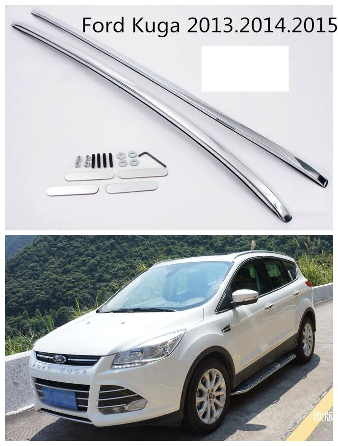 Car Roof Rack For Ford Kuga 2013 2014 2015 High Quality Brand New Aluminium Alloy European Design Luggage Racks Car Roof Racks Ford Kuga Roof Rack