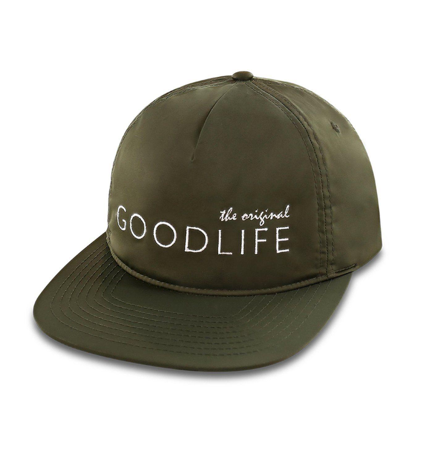 Flat Brim Original Logo Hat | Laurel | Goodlife Clothing