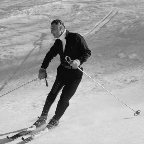 Gianni Agnelli skiing in 1967 | Gianni agnelli, Vintage ...