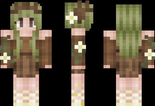 I Am Groot Minecraft Skin Minecraft Girl Skins Minecraft Tattoo Minecraft Skins