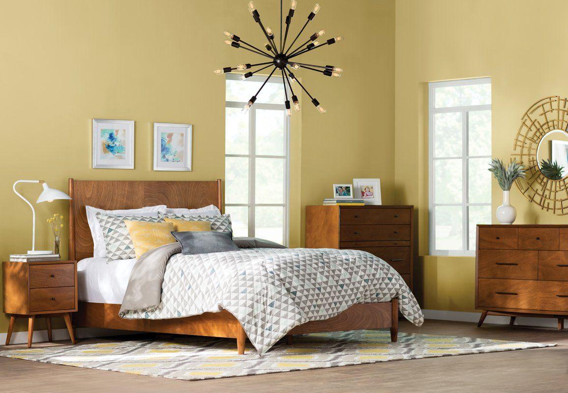 Parocela 2 Drawer Nightstand In 2019 Bedroom Decor 2 Drawer Nightstand 7 Drawer Dresser