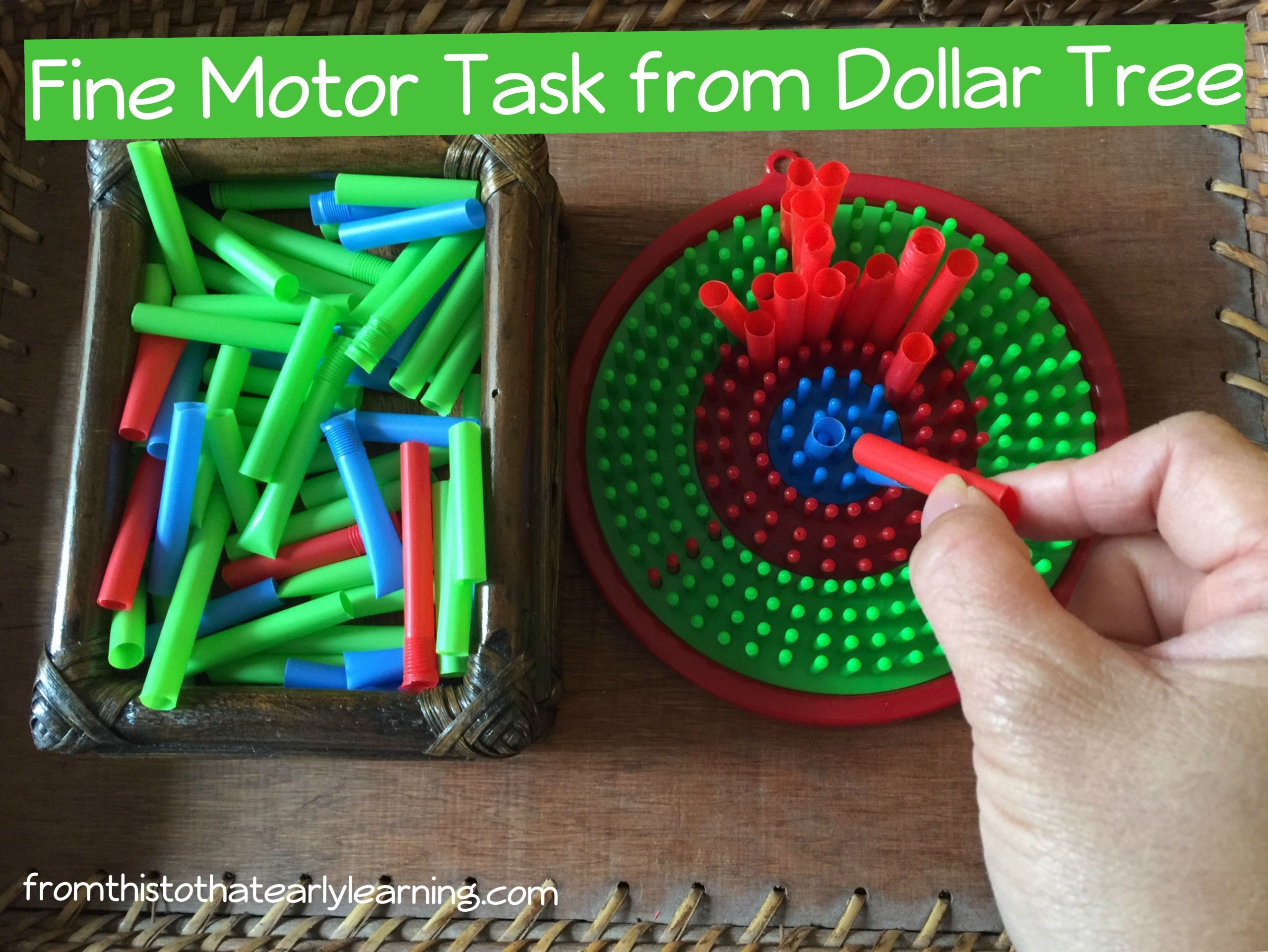 Fine Motor For 2 00 From Dollar Tree