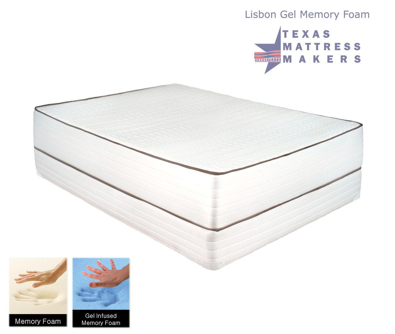 Lisbon Gel Memory Foam Mattress Gel Memory Foam Mattress Memory Foam Mattress Gel Memory Foam