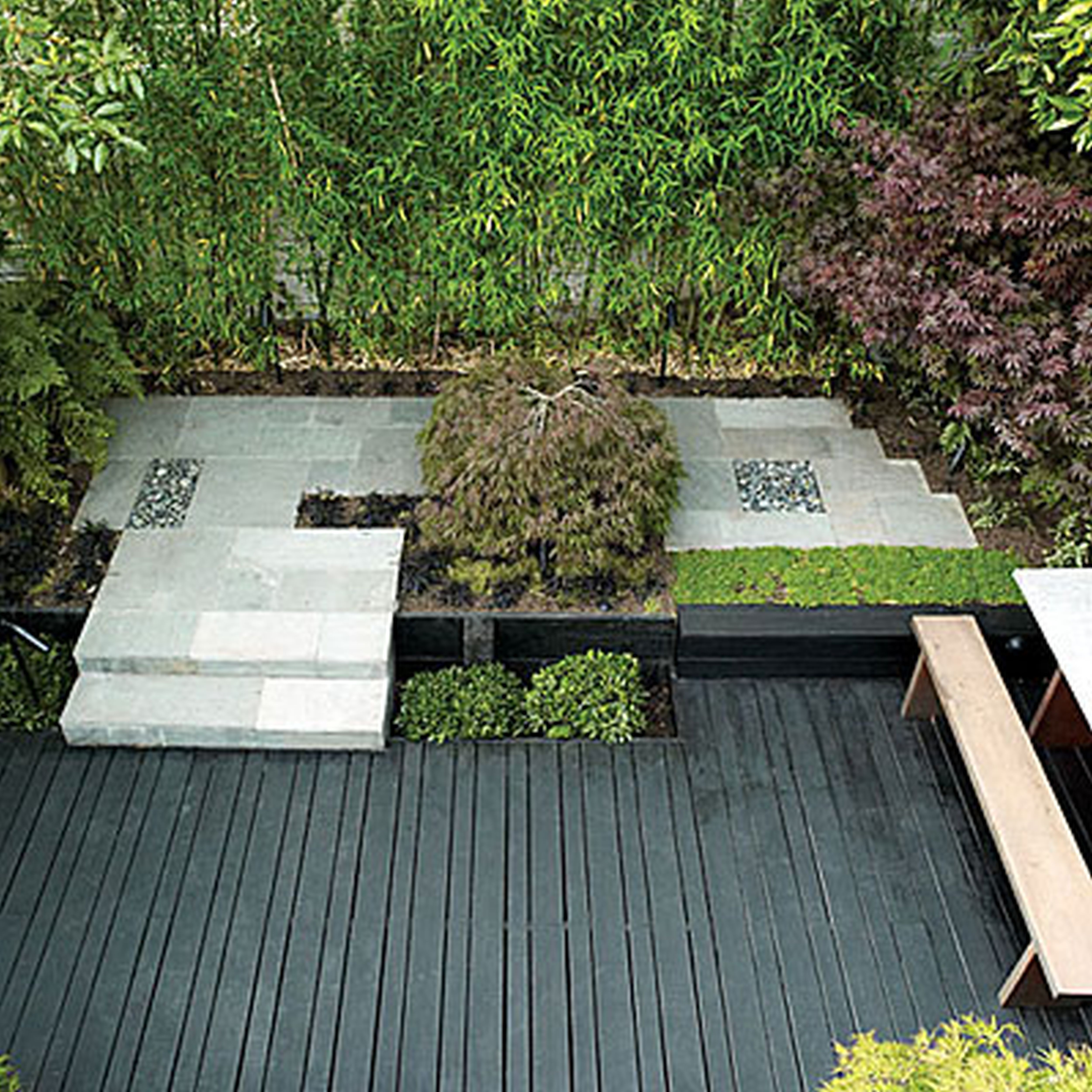 Modern Landscape Design For Small Spaces: Architecture,Inspiring Landscape Design Small Yard With