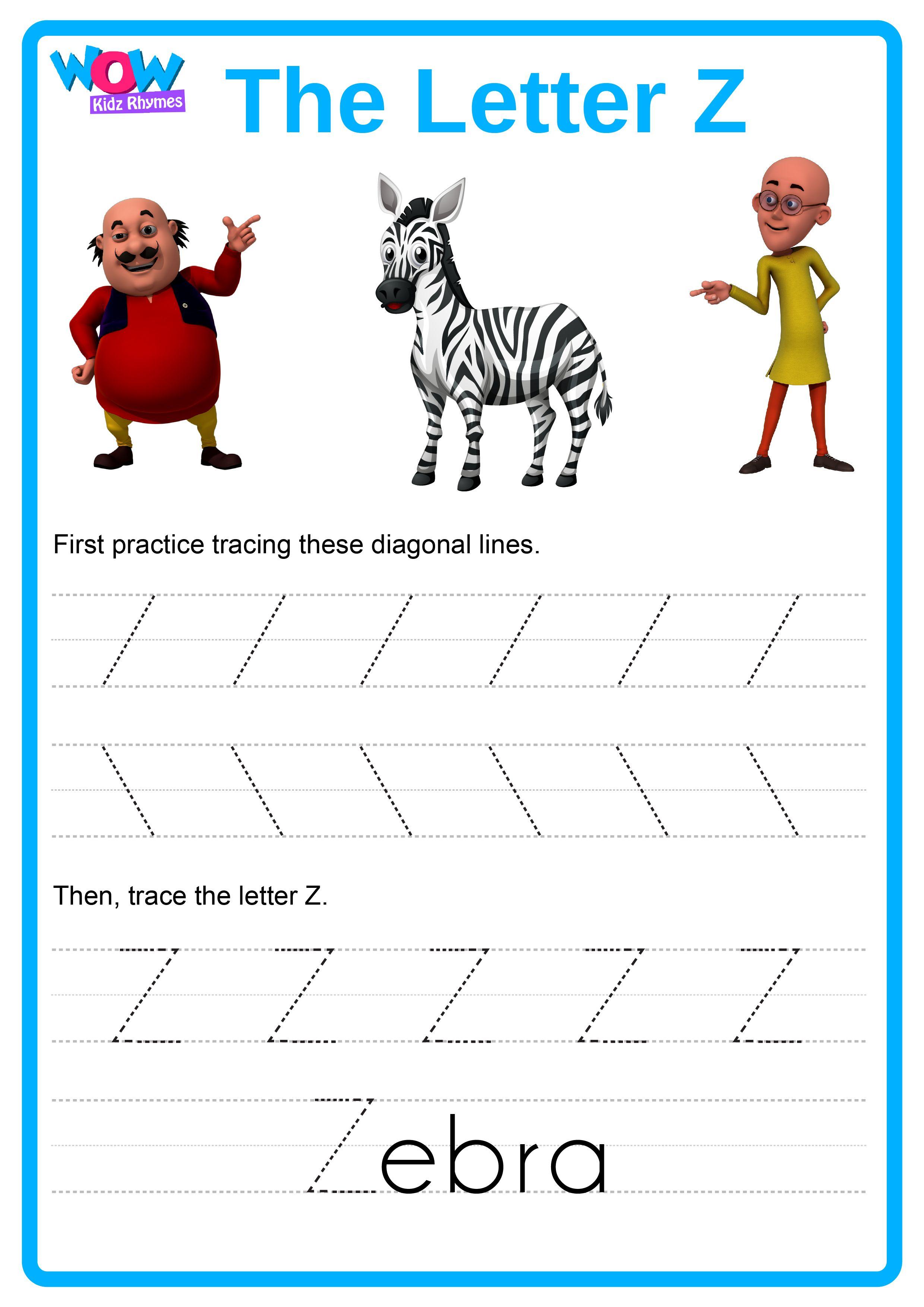 Z For Zebra Wowkidzrhymes Fun Learning Alphabets