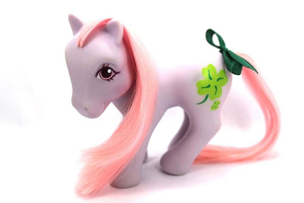 💕 Vintage G1 My Little Pony 💕 - Euro Exclusive Seven Tales CLOVER!