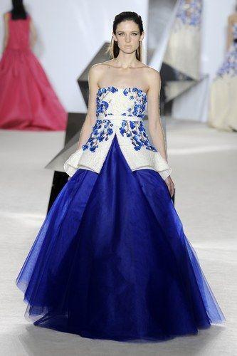 Giambattista Valli, París Alta Costura Primavera Verano 2014 #fashion #moda
