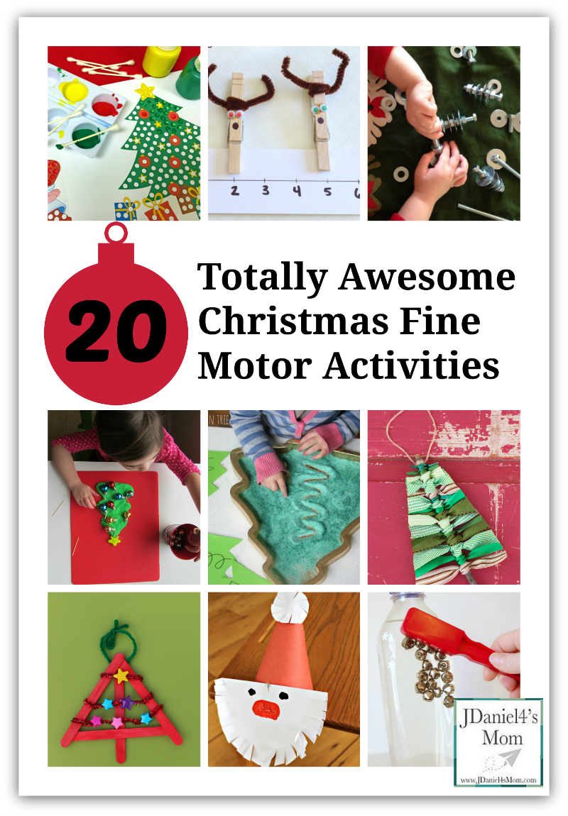 20 totally awesome christmas fine motor activities these activities will have kids learning. Black Bedroom Furniture Sets. Home Design Ideas