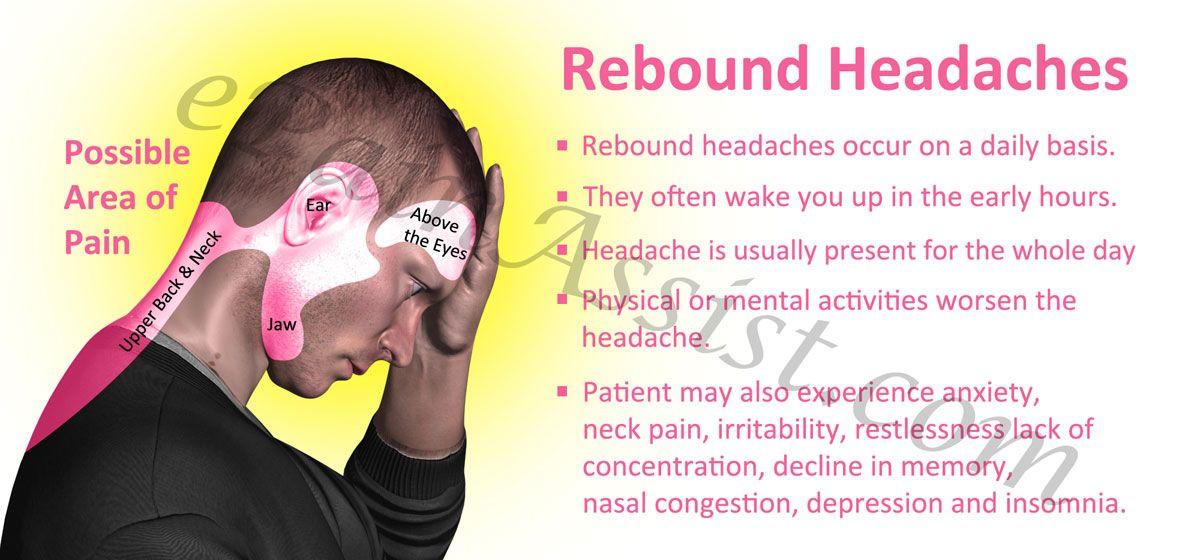 Coital headaches treatment