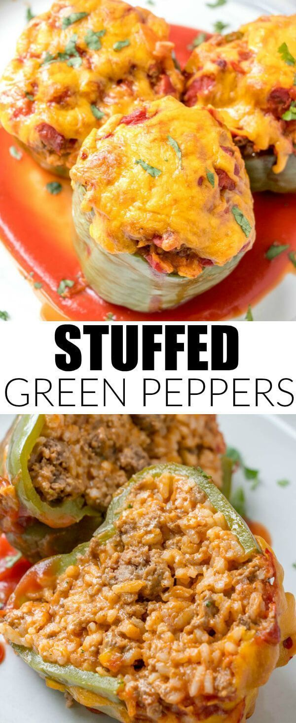 Stuffed Green Peppers images