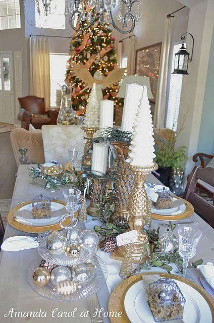 Christmas Tablescape Christmas Table Decorations Holiday Centerpieces Diy Holiday Tablescapes