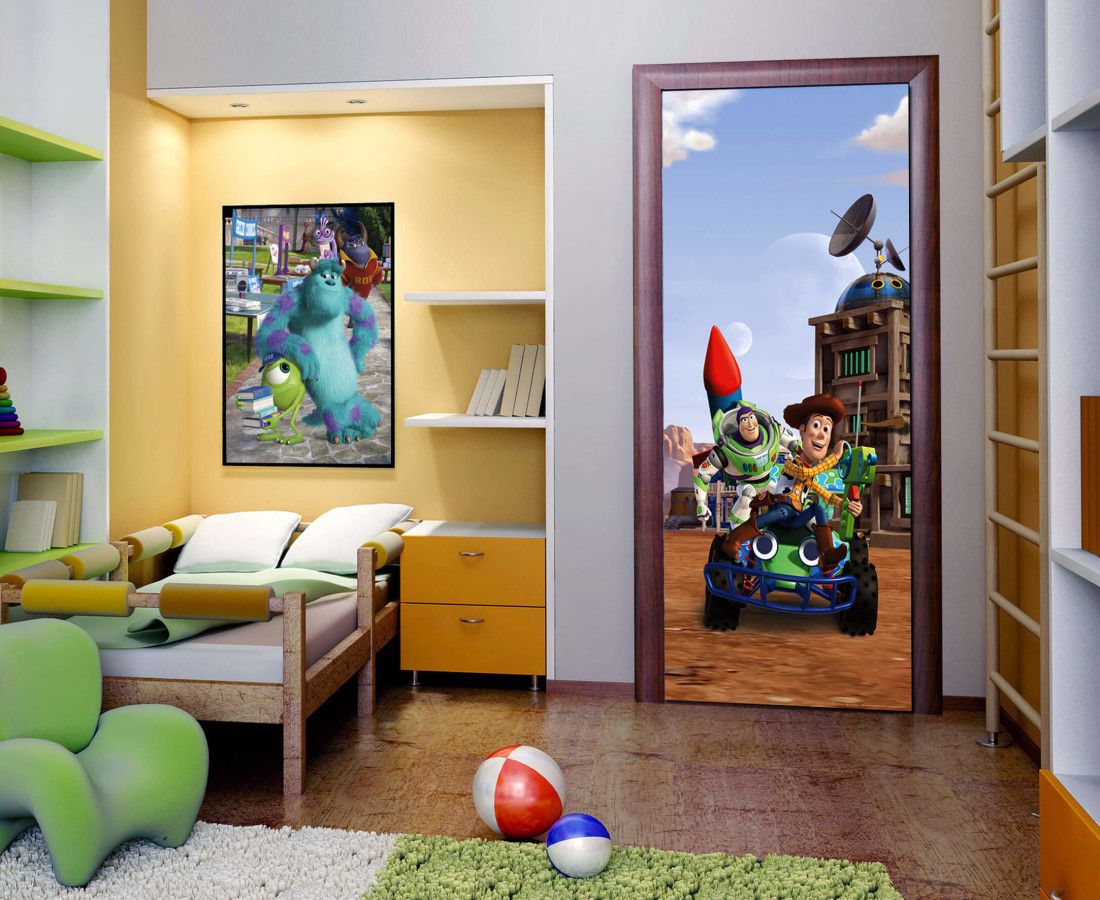 Disney toy story kids wall mural by wallandmore best for kids room disney toy story kids wall mural amipublicfo Image collections